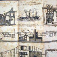 1843 Steam Shop Print