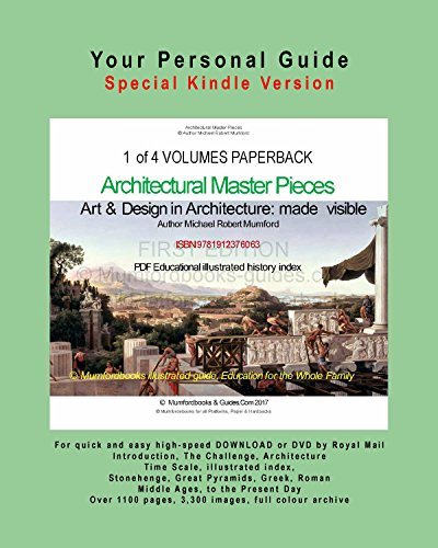 Art and Design in Architecture Amazon Kindle - Vol 1
